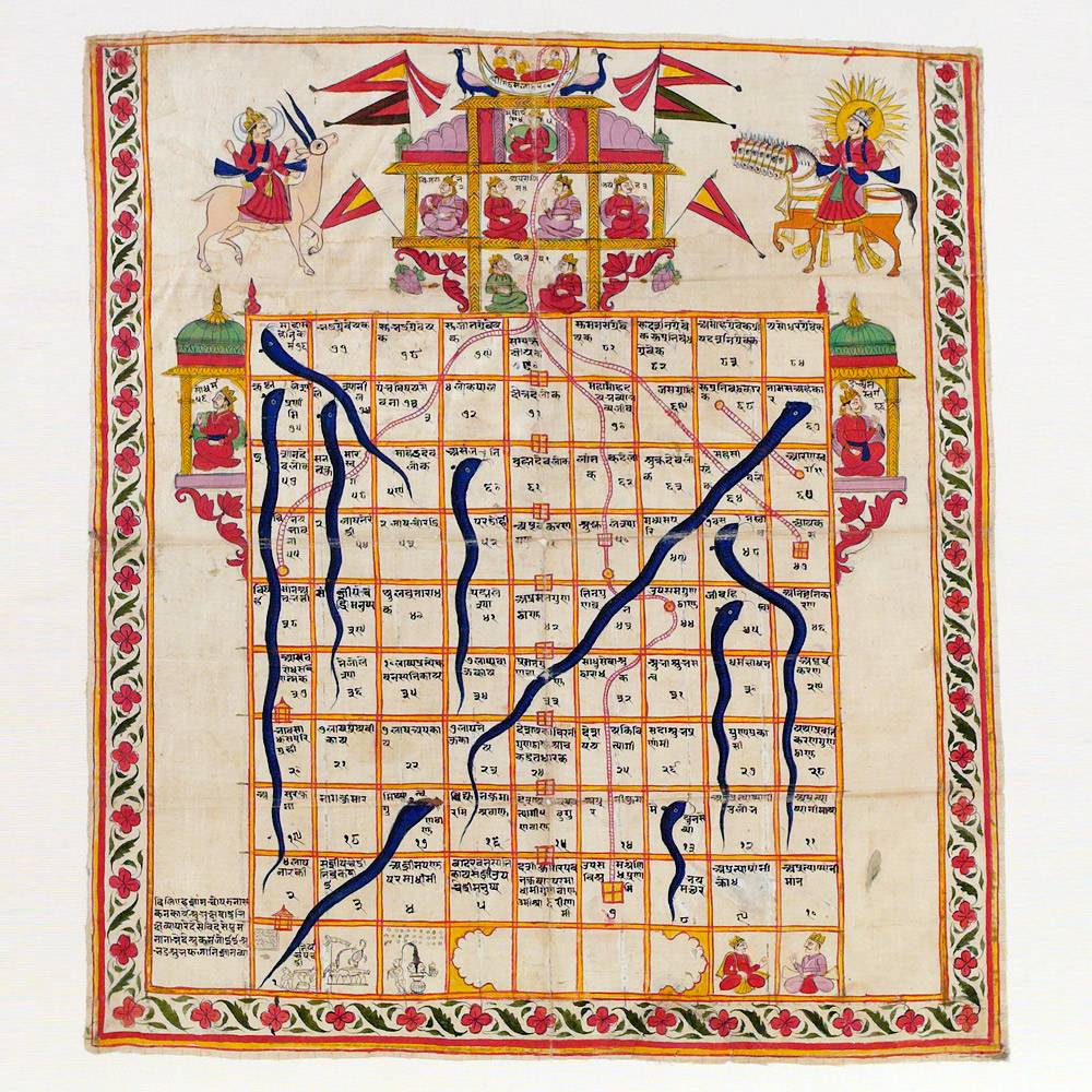 Chutes and Ladders (Ancient Indian Game)