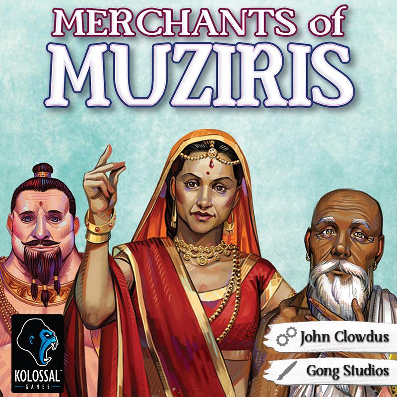 Merchants of Muziris (Card Game)