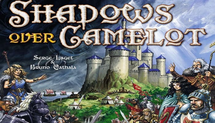 Shadows Over Camelot (Knights, Black & White Sword)