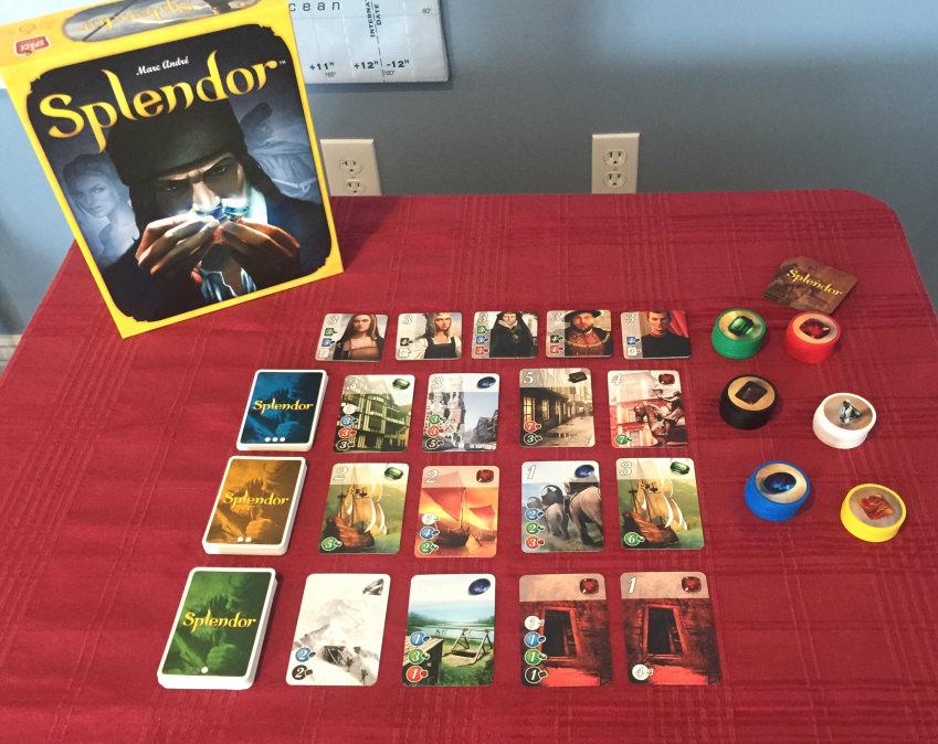 Splendor (Card Game, Family)