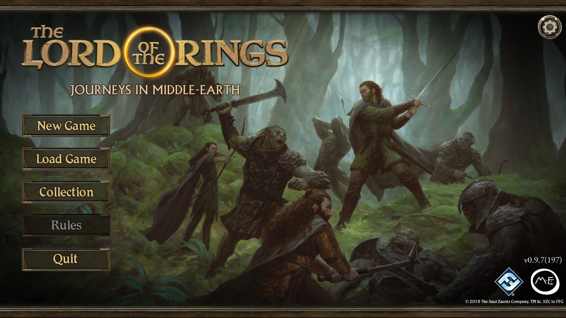 The Lord of the Rings Journeys in Middle-earth (Adventure)
