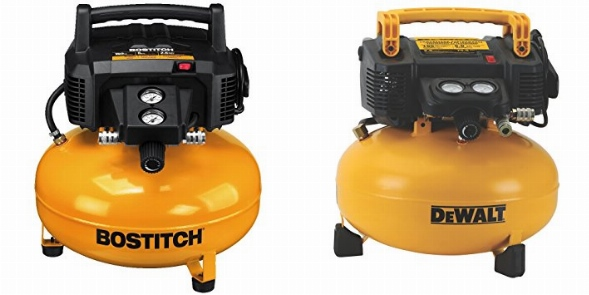 Bostitch-BTFP02012-Oil-Free-Compressor-vs-DEWALT-DWFP55126-Pancake-Compressor