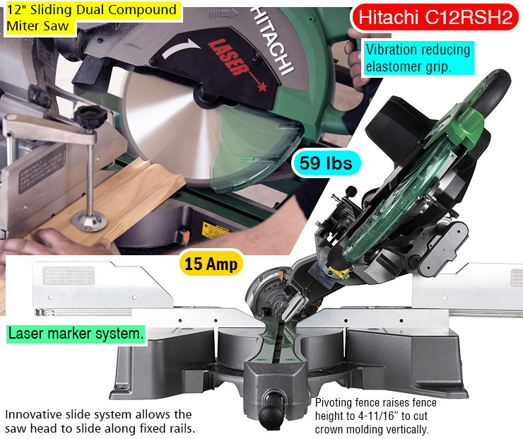 Hitachi-C12RSH2-miter-saw-