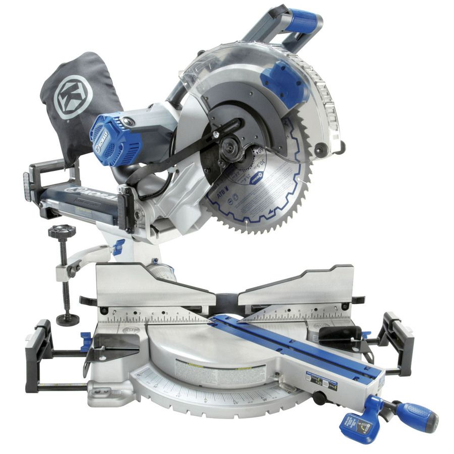 Kobalt 12-in Dual-Bevel Sliding Laser Compound Miter Saw