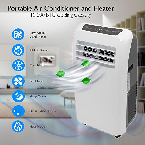 SereneLife 10,000 Portable Air Conditioner