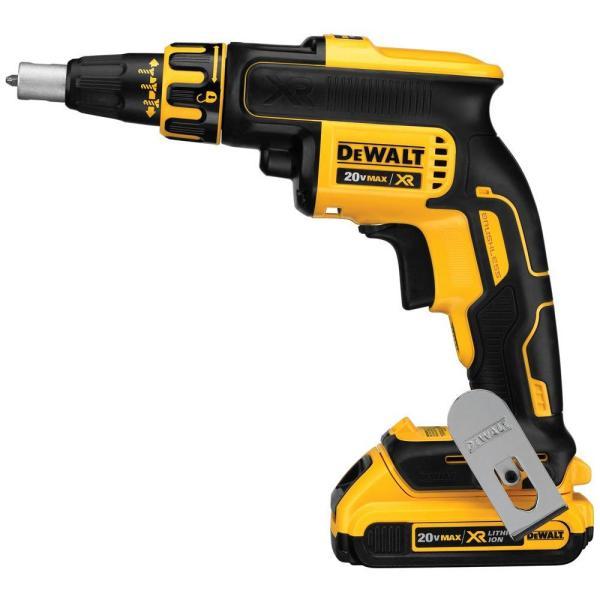 DEWALT DCK263D2 20V Drywall Screw Gun & Cut-out Tool Combo Kit
