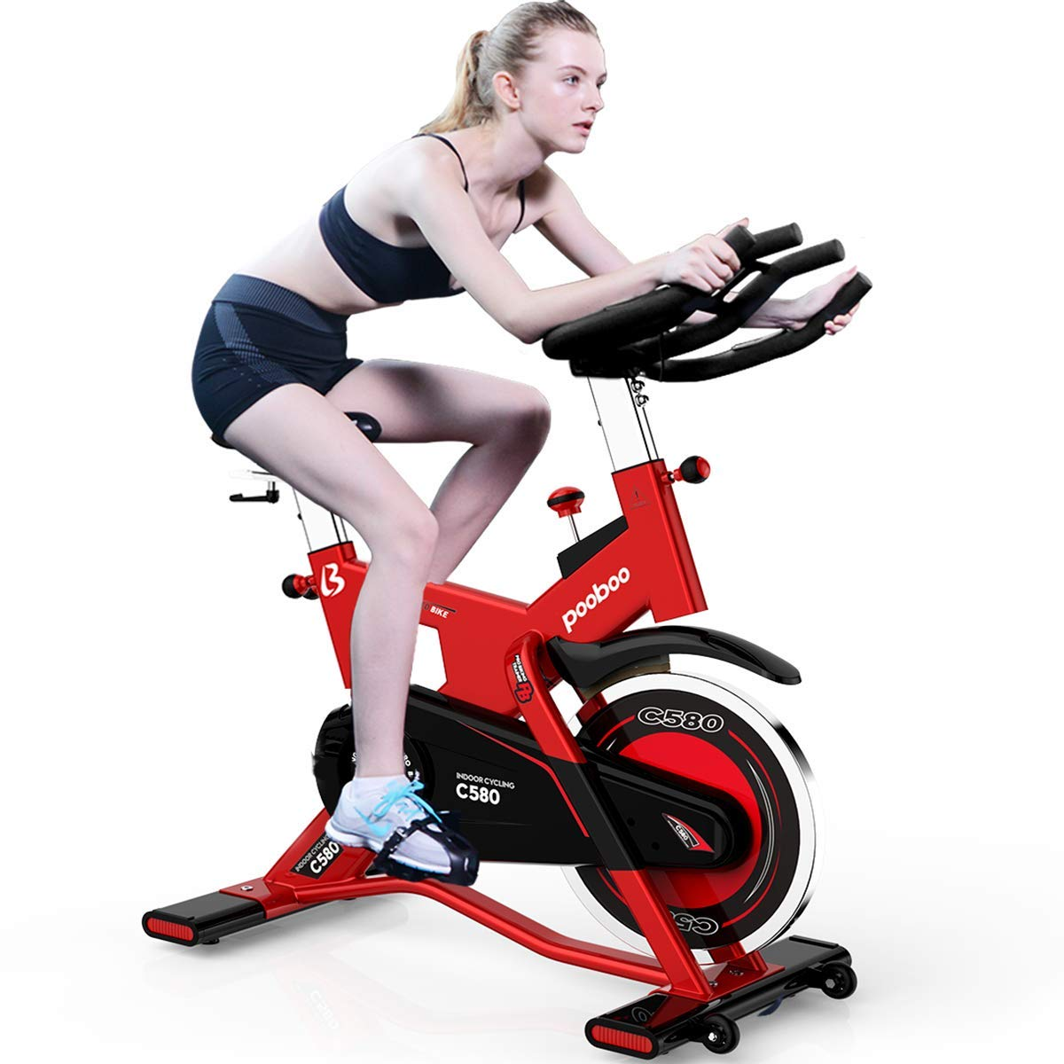 L Now C580 Pro Indoor Cycling Bike Smooth Belt Driven