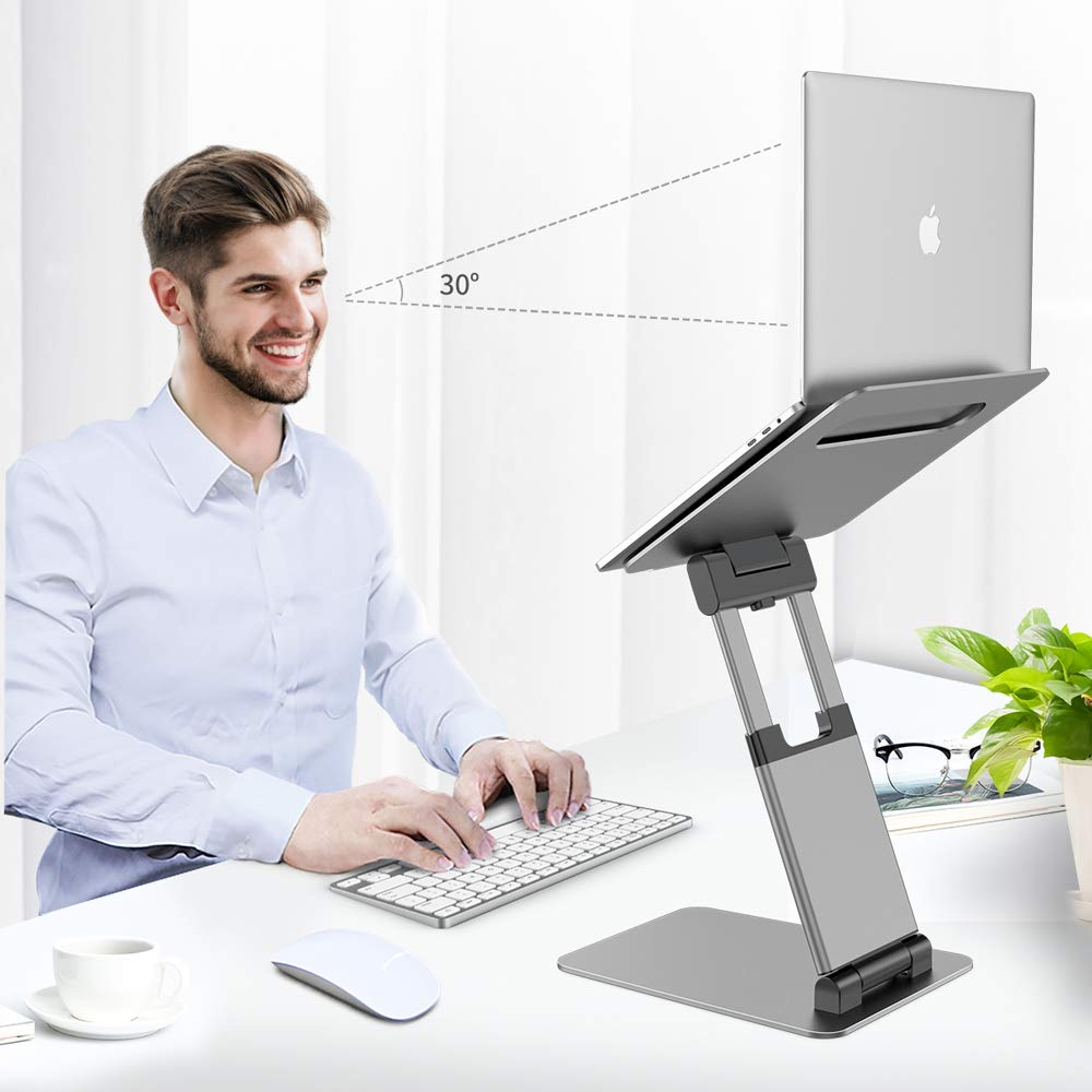 Nulaxy Sit to Stand Laptop Holder Convertor