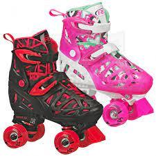 Trac Star Youth Girl's Adjustable Roller Skate