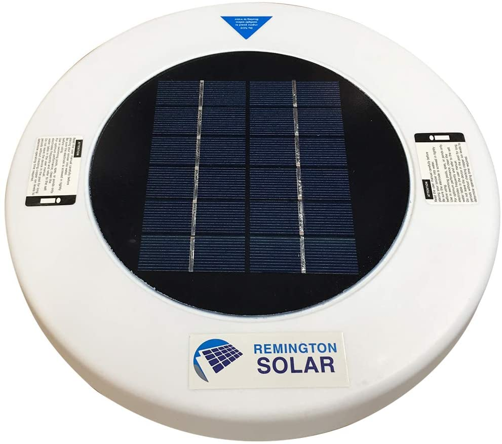 Remington Solar Chlorine-Free Sun Shock Automatic Pool Cleaner & Pool Ionizer